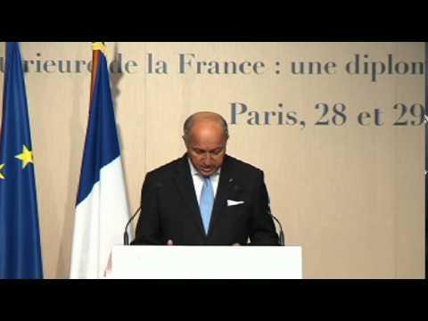Conférence des Ambassadeurs - Discours de clôture de Laurent Fabius