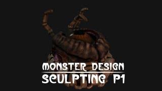 Creative Monster Design tutorial