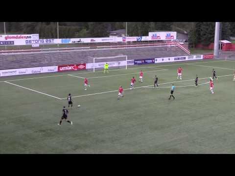 Høydepunkter: Kongsvinger IL - Fram Larvik