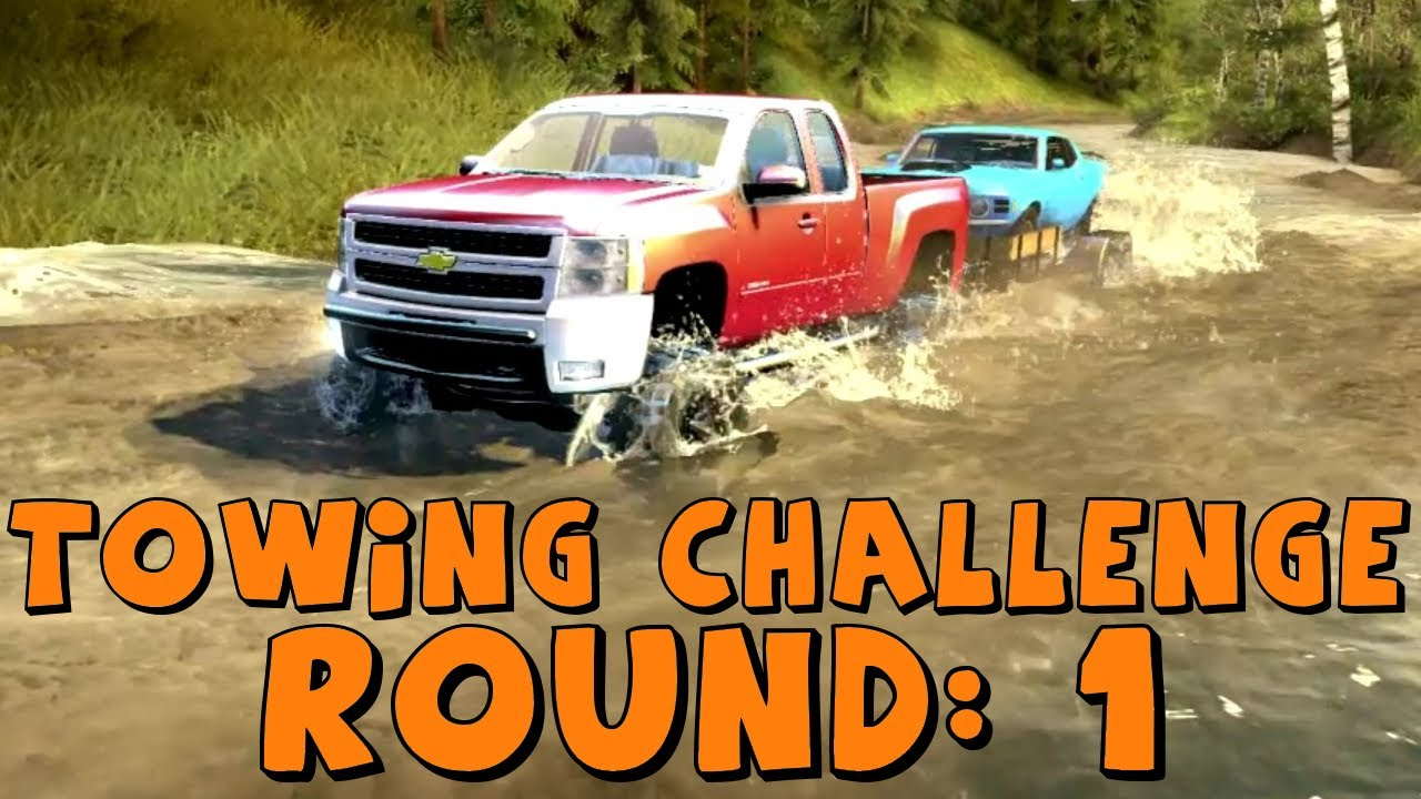 Spin Tires | Trailer Towing Challenge: Round 1 | Chevy ...