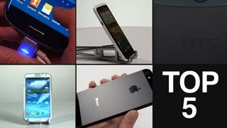Samsung Galaxy S3, iPhone 5, Note 2, HTC One X & One S - Best Phones 2012