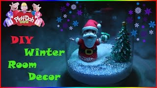 How To Make Santa Claus Christmas Room Decoration  | DIY 3D Modeling Creations for Kids