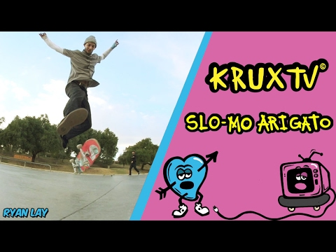 Ryan Lay Nollie 540 flip in SLOOOO-MOOOOO