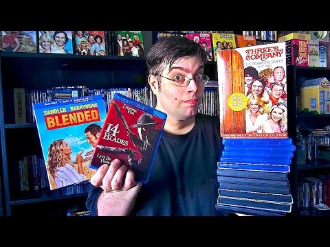 My Blu-Ray Collection Update 8/29/14 ( Blu ray and Dvd Movie Reviews )