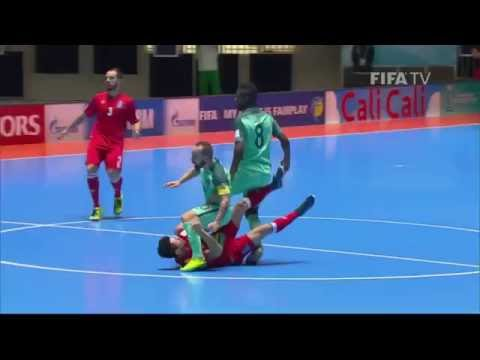 Match 48: Azerbaijan v Portugal - FIFA Futsal World Cup 2016