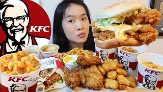 KFC ALL CHEESE FEAST!! MAC N