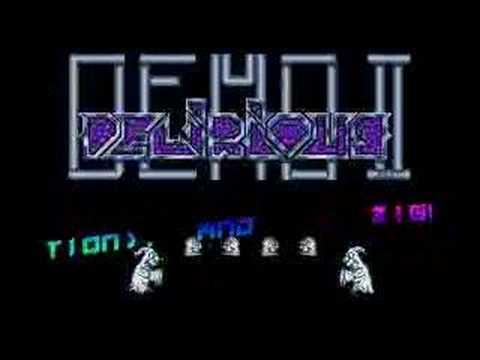 Delirious Demo 2 intro3 - Overlanders (Atari ST)