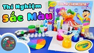 Những thí nghiệm đầy sắc màu với bộ Crayola Color Chemistry Lab Set ToyStation 301