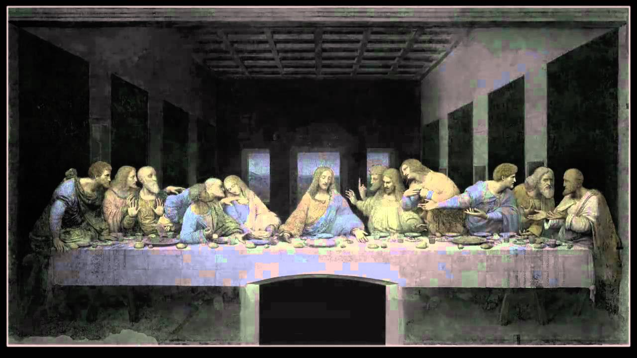 leonardos last supper a vision by peter greenaway