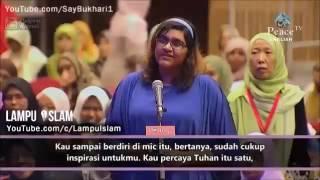Gadis ini PELIK Kenapa Ramai Yang Masuk Islam - Dr Zakir Naik Malay Subtitle