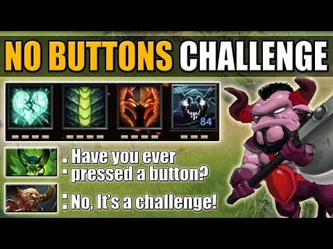 Passive One Hand Tank in Ability Draft [No Buttons Challenge] Dota 2