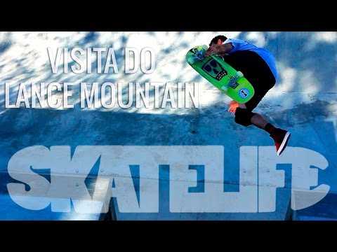 Bob Burnquist #SKATELIFE | Visita do Lance Mountain