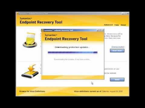 Symantec Endpoint Recovery Tool CdRom