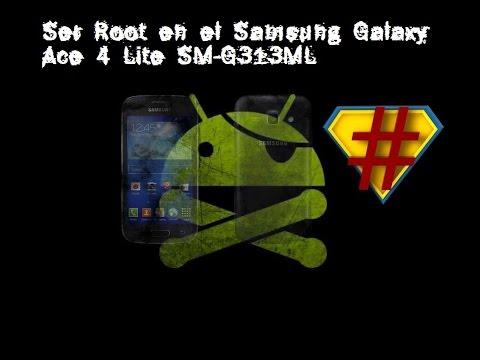 Como rootear Samsung Galaxy Ace 4 Lite (SM-G313ML y SM-G313U)