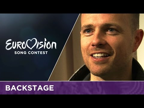 Nicky Byrne (Ireland): 'Eurovision Song Contest feels like the Olympic Games'