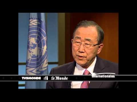 """Ban Ki-moon : au nord Kivu, la Monusco """"n'est pas un échec"""""""