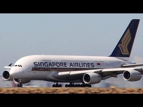 Sydney Airport: Heavy Traffic Spotting - Part 1