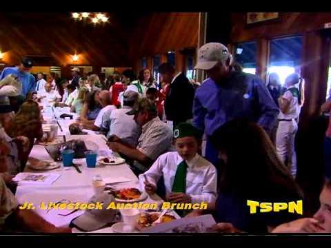 Amador County Fair Jr. Livestock Auction Brunch TSPN TV 2012