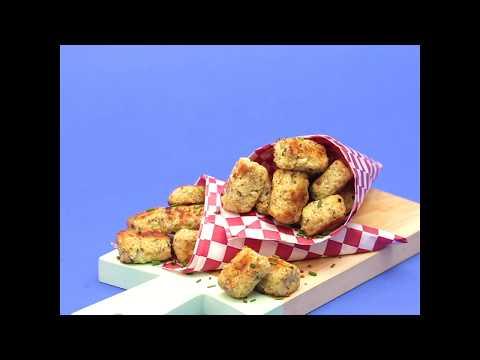How to Make Cheesy Keto Cauliflower Tots thumbnail