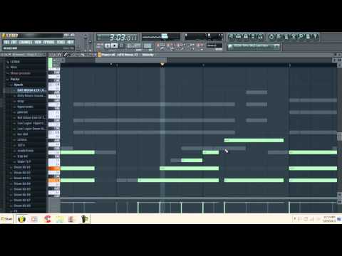 Fl Studio 10 | Making A Hiphop trap Beat| By Aeronj video