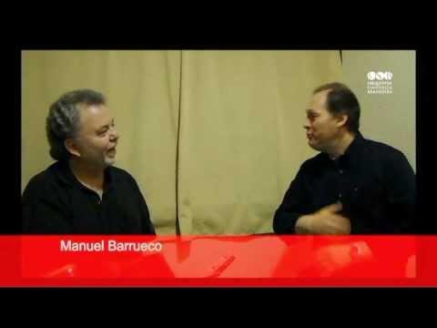 Maestro Titular da OSB conversa com o violonista Manuel Barrueco