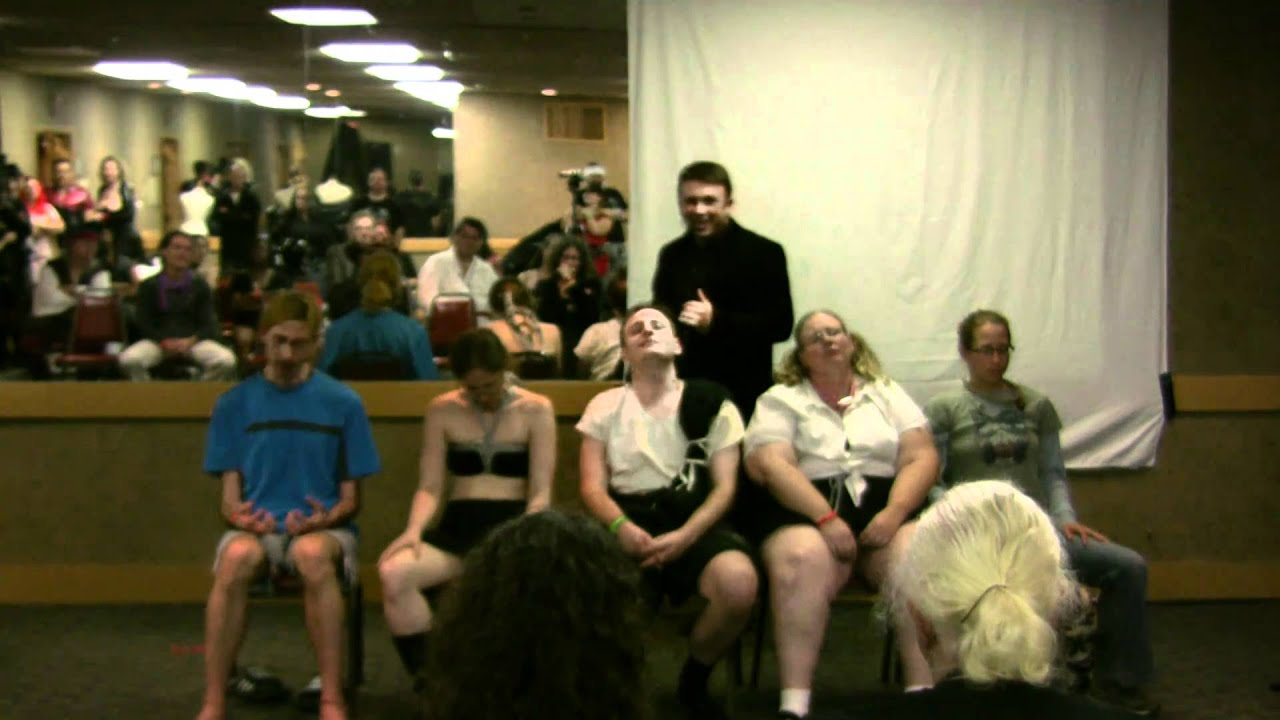 hypnotist show erotic