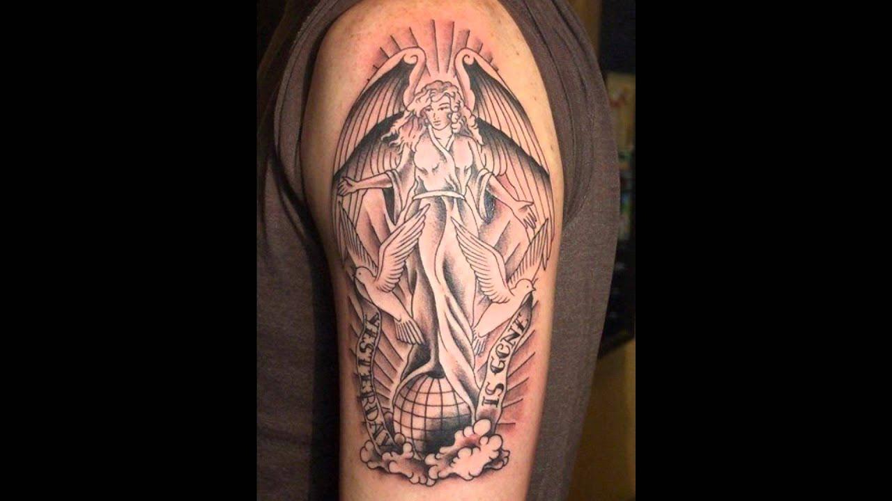 Tatuajes angel dibujos tatuajes angeles youtube - Dibujos tribales para tatuar ...