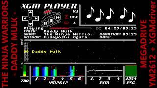 [BGM] THE NINJA WARRIORS  -DADDY MULK- [MEGADRIVE XGM driver](not MEGA-CD)