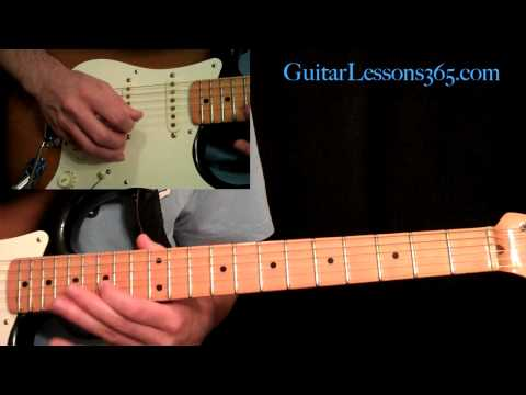 Still Got The Blues Guitar Lesson Pt.1 - Gary Moore - Intro & Main Solo