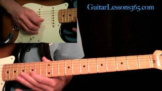 Still Got The Blues Guitar Lesson Pt 1 Gary Moore Intro Main Solo