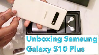 Unboxing Samsung Galaxy S10+ | Plus | iPhone User Review | Move/Transfer From iPhone To Android
