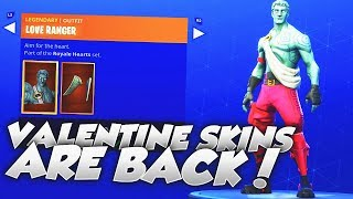 VALENTINES SKINS ARE BACK OUT! Fortnite ITEM SHOP June 18th 2018! NEW Daily Items & Featured Items!