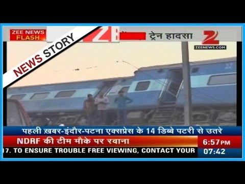 Indore-Patna Express derailed in Kanpur, many dead