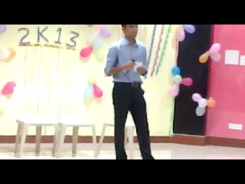 Live Perfomance In Iitkgp By Nitesh Kalihari Ye To Sach Hai Ki Bhagwan Hai video