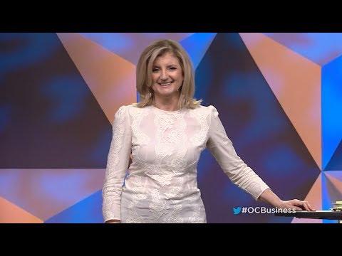 Arianna Huffington Speaks About