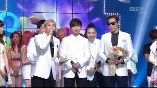 BIGBANG_0417 _SBS Popular Music _ LOVE SONG_1st Award