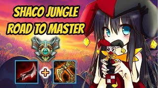 Full Lethality Shaco carrying Diamond 3 [League of Legends] Road to Master - Infernal Shaco