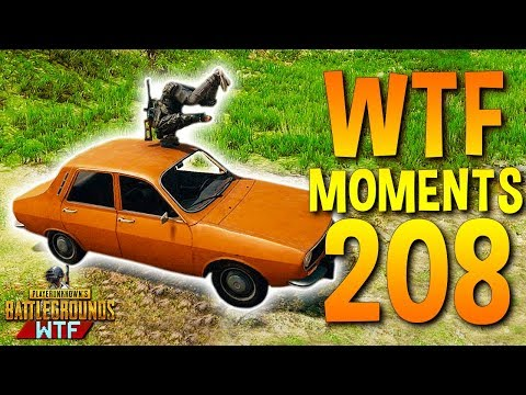 PUBG Daily Funny WTF Moments Highlights Ep 208 (playerunknown's battlegrounds Plays)
