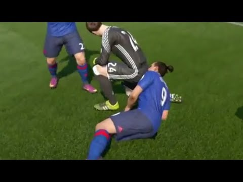 Best FIFA 18 FAILS ● Glitches, Goals, Skills ● #2