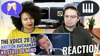 Download Lagu Britton Buchanan – New York State of Mind | The Voice 2018 Knockout | REACTION Gratis STAFABAND