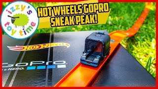 SNEAK PEAK! Hot Wheels GOPRO ZOOM IN PREVIEW! Fun Toy Cars for Kids!