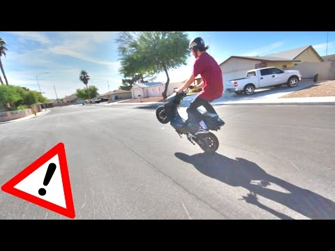 MAKING A 50cc SCOOTER INSANE FAST ! MAKE A 49cc MOPED FASTER !