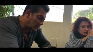 Salman Khan Listen and Croons Selfish By Atif Aslam| SELFISH| ATIF ASLAM SALMAN KHAN
