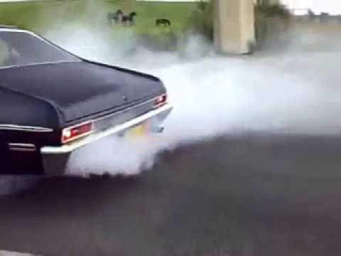chevy nova 1970 burnout Video