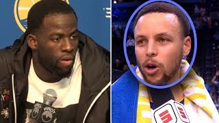 """Stephen Curry Says """"TRADE Draymond Or KEVIN DURANT IS LEAVING"""" And Draymond GETS MAD"""