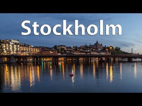 Stockholm - The majestic capital of Scandinavia (timelapse) - 4k