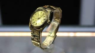 Rare Vintage Rolex Datejust 6824 14kt Yellow-Gold Ladies Watch