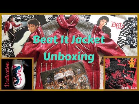 Michael Jackson Beat It Jacket - Unboxing