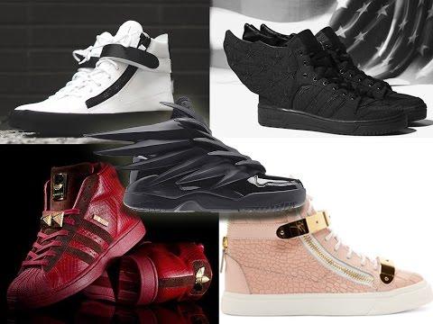 Feb/ March ShoeHaul : Jeremy Scott, Giuseppi Zanotti, Asap Rocky & Big Sean