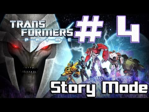 Transformers: Prime -- The Game - Part 4 - Climbing the ancient Ruins (Wii U)